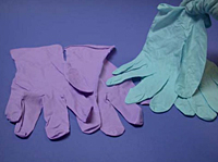 Disposable Nitrile Gloves- Low Powder